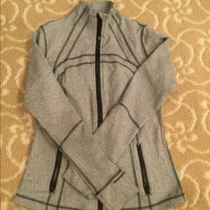 EUC Lululemon Women's Define Gray Jacket Size 10